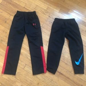 Size 7 Under Armour and Nike pants